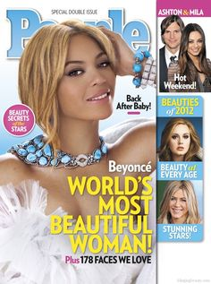 @Beyonce named World's Most Beautiful Woman by @peoplemag #celebrities. It's all about being a #mommy!