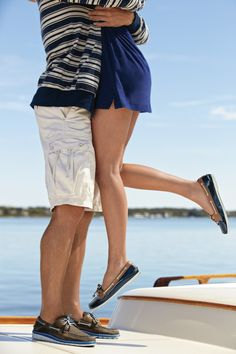 Sperry Top-Sider Audrey Slip On Patent Boat Shoe