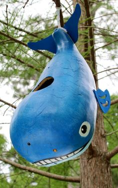 whale gourd bird feeder