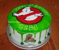 Ghostbusters birthday cake birthday parti, parties, green, ghostbusters, birthdays, ghostbust parti, ghostbust birthday, ghostbust cake, birthday cakes