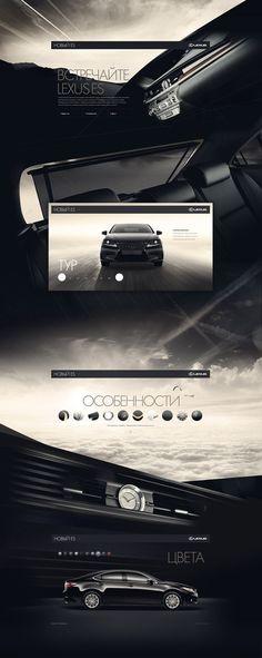 #Lexus #webdesign #Web #Design #Website #Webdesign #Inspiration