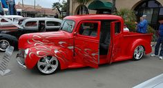 Custom 1940 Ford Crew