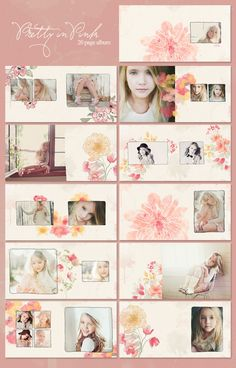 beautiful album template
