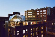 Diane von Furstenberg's Green-Roofed Penthouse in New York City / by Work Architecture