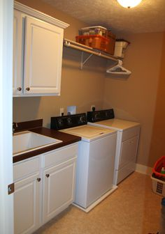 HomeTalk Laundry Room Makeover - Laundry Room Before And After - House Beautiful