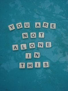 You are not #alone in this. #SupportBoard #DisabilityNinjas #Support #SupportGroup #Forum #Bond #Friends #Family #Disability #ChronicIllness #InvisibleIllness #ChronicPain #MentalIllness #MentalHealth