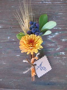 DIY cinnamon stick place cards #placecards #tabletop #fall table