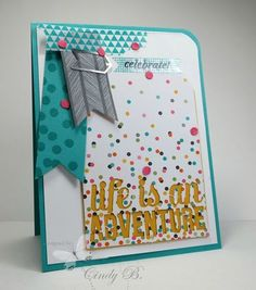 Project Life Kit from Stampin' Up! Come visit our blog hop with the confetti theme: bit.ly/1rbzDnH