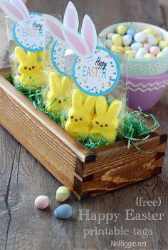 Happy Easter tags (free download) Nobiggie.net