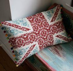 Union Jack pillow <3