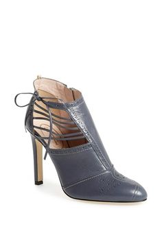 SJP by Sarah Jessica Parker SJP 'Lee' Side Lace Nappa Leather Bootie (Nordstrom Exclusive) available at #Nordstrom