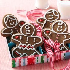 Gingerbread Babies Recipe from Taste of Home -- inspired by the Gingerbread Baby by Jan Brett