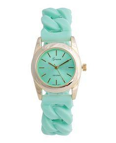 Pretty Pistachio Watch