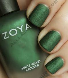 Nails - Zoya's Veruschka Matte Velvet Lacquer