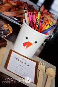 Cute Kid Friendly Thanksgiving Ideas :)