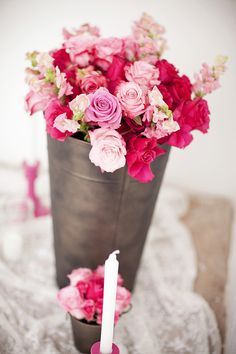 Wedding Centerpieces -- Pretty sure this is the best gallery on Style Me Pretty!! See more here -- http://www.StyleMePretty.com/gallery/tag/centerpiece/  Photography: License to Still