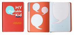 journal, kid books, memori, gift, kid quotes, parent, funny quotes, quotabl kid