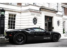 Ford GT 1000 RE, tuned by Hennessey Performance has 1000 hp and kills the 0 - 60 mph in 2.8 sec, 1/4 mile: 10.6 sec. @ 142 mph and a top speed of 245mph.