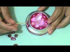 Recícla!! : Monedero/Porta Aretes+Espejo Estilo Princesa