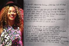 All About Beyoncé's Hippie Instagram Poetry