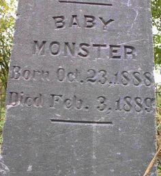 """The word """"monster"""" originally meant """"deformed"""".  A monster could be a two headed calf, conjoined twins or a hideously deformed human infant. It was only in the 20th century that monster came to mean any cruel or alien creature."""