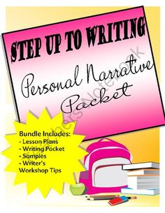 Writing a Personal Narrative - Step up to Writing Method FRE! Enter for your chance to win 1 of 3.  Step up to Writing - Writing a Personal Narrative - Bundle (11 pages) from The Resourceful Teacher on TeachersNotebook.com (Ends on on 11-2-2014)  Enter to win this Step up to Writing Bundle which features Writing a Personal Narrative.  I will have 3 winners!!  Giveaway ends Nov. 2nd.