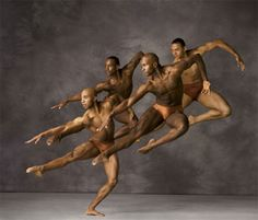 Alvin Ailey dancers.