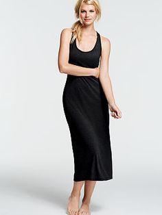 Victorias Secret Sleepover Cotton Knit Gown