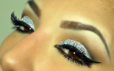 3D Glitter makeup (by Motoune)