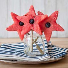 Watermelon Stars (optional alcohol)