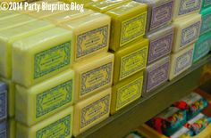 Love these Gorgeous Soaps to pretty up the powder room or for party favors - It's A Party At Cost Plus World Market® #spon #WorldMarket_NJ