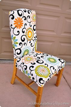 Love the material and the style of the chair -