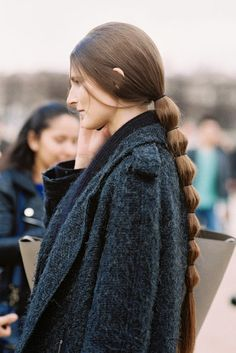 Vanessa Jackman: Paris Fashion Week AW 2014....Marie