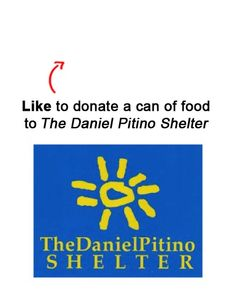 We are donating a can to a food to The Daniel Pitino Shelter in Owensboro, KY for each Like on this pin! Like EatAtTGIFridays on Facebook and we'll donate another! www.facebook.com/EatAtTGIFridays