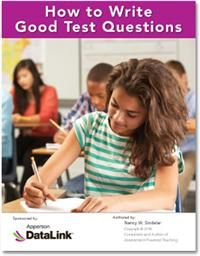 how to write good test questions