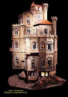 A castle dolls house