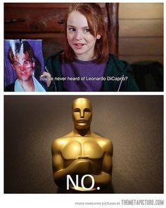 Leo never gets a break…