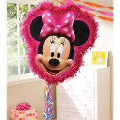 Minnie Mouse Pull String Pinata