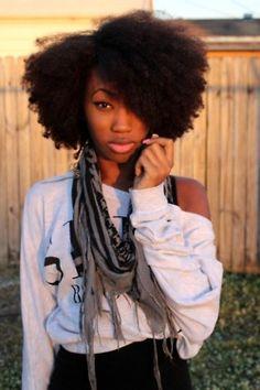 C'est quand même beau un #afro :)