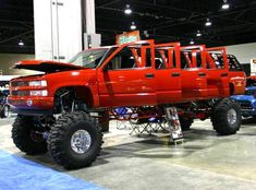 Jacked Up 1994 Chevy Suburban Stretch Limo - What?! This. Is. Crazy.