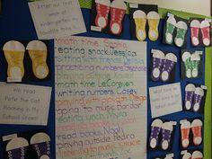 Chalk Talk: A Kindergarten Blog: Rocking in Our School Shoes