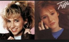 Debbie Gibson and Tiffany