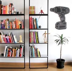 "How To: Make an ""Industrial Chic"" Plumbing Pipe Shelf » Man Made DIY"