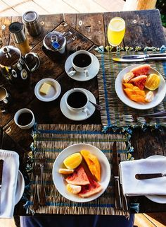 The perfect morning spread.