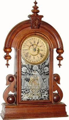 """antique Ansonia """"Parisian"""" Model Clock"""