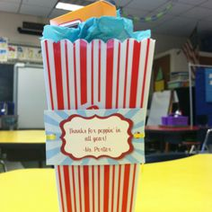 Parent volunteer gifts - So cute!  Looking for just the right thank you for the end of the year.