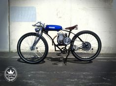 Imperial Cycles Custom motorized bicycle moped by imperialcycles, $2250.00