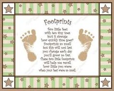 Footprints to frame