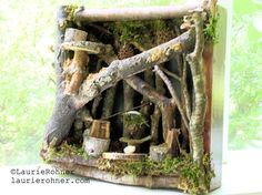 mystical magical Woodland fairy houses