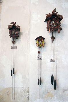 Michel Berger Hotel clocks